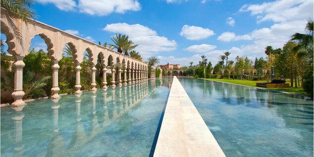 Palais Namaskar, Maroc