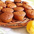 Muffins à l'huile d'olive et au citron