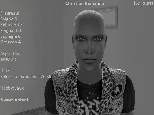 Christian Bienaimé (67 jours)