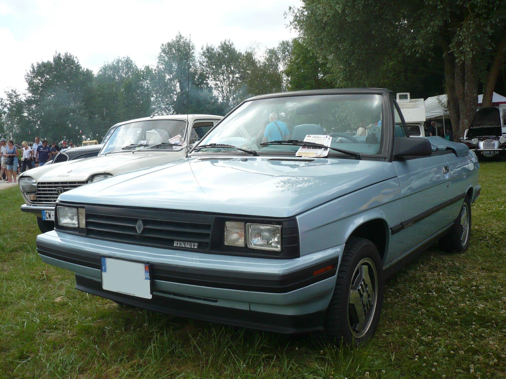RENAULT - AMC Alliance L cabriolet 1987 Madine (1)