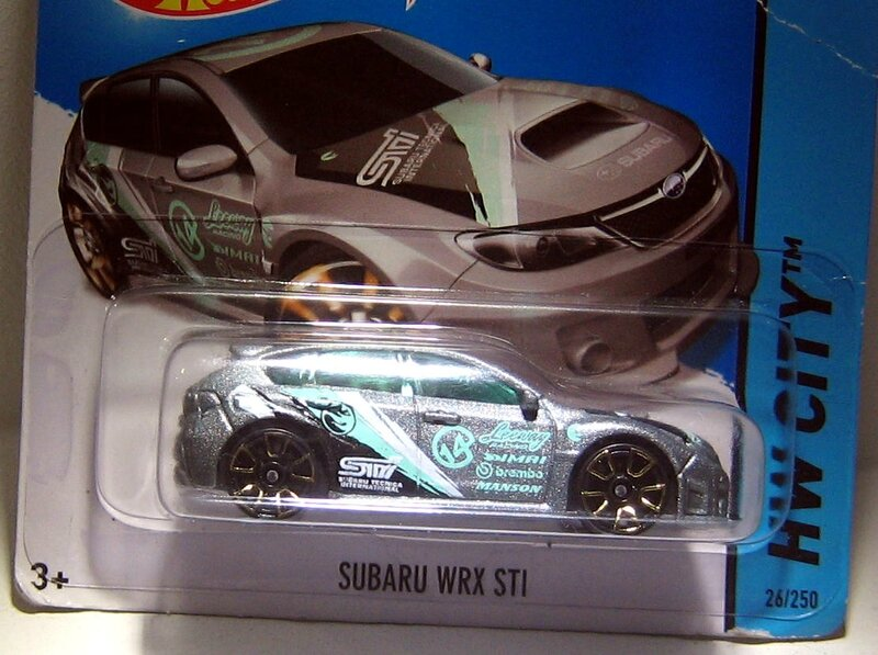 Subaru WRX STI (TH)(2014)(Hotwheels)