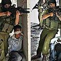 Ce sont les soldats israéliens qui se servent des enfants de gaza en tant que boucliers humains
