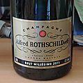 Alfred rothschild 2011 champagne brut