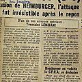 10 1 - heimburger charly - n°328 - journaux