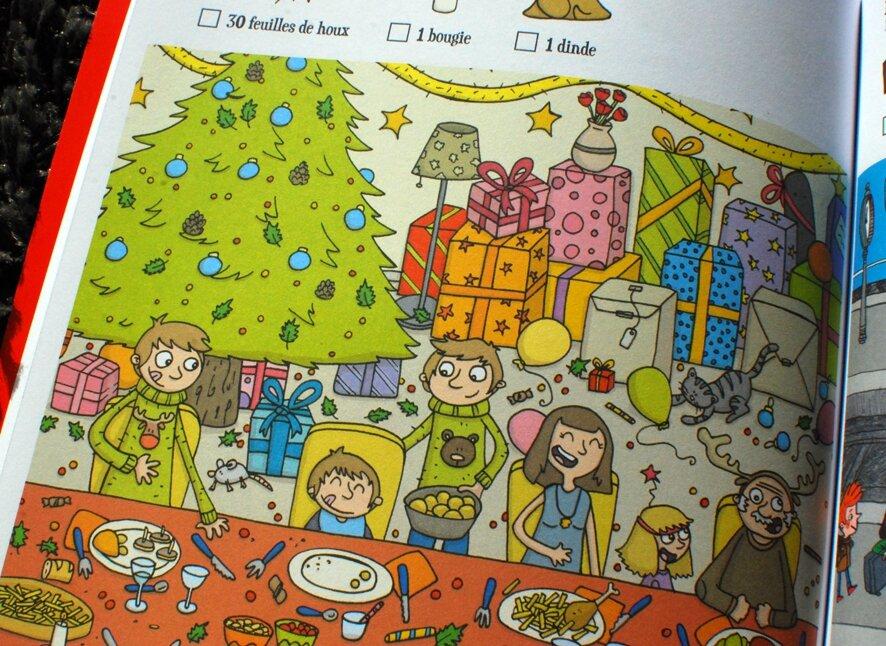 Cherche et trouve - Noël
