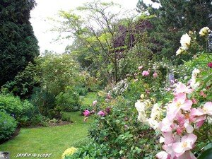 Jardin privé du rosiériste André EVE