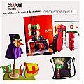 Crapule factory - styliste - maroquinerie - accessoire de mode - cadeau de naissance - made in france - fait main