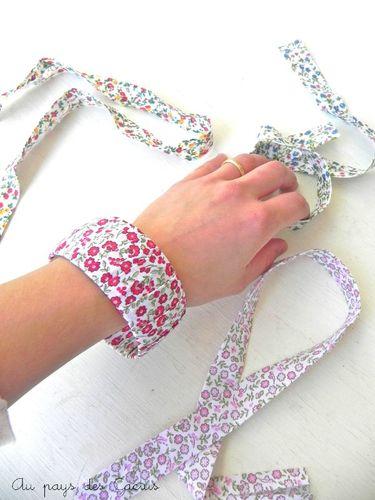 Bracelet Liberty rouge Au pays des Cactus