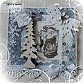 Reçue de Claudine du Puits d'Amour * Noël 2015