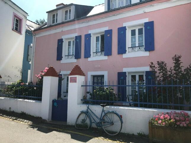 Les maisons colorées de Sauzon