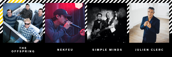 festival-Beauregard-2018-The Offspring-Nekfeu-Simple Minds-Julien Clerc-samedi 7 juillet