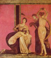 Villa des mysteres 80 av jc pompei