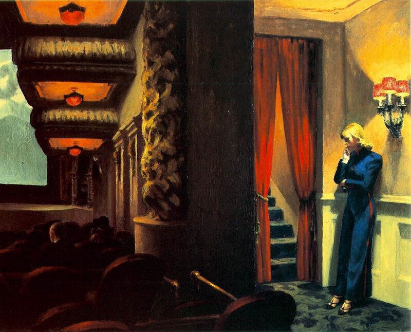 Lakévio 123 Edward Hopper - New York movie 1939