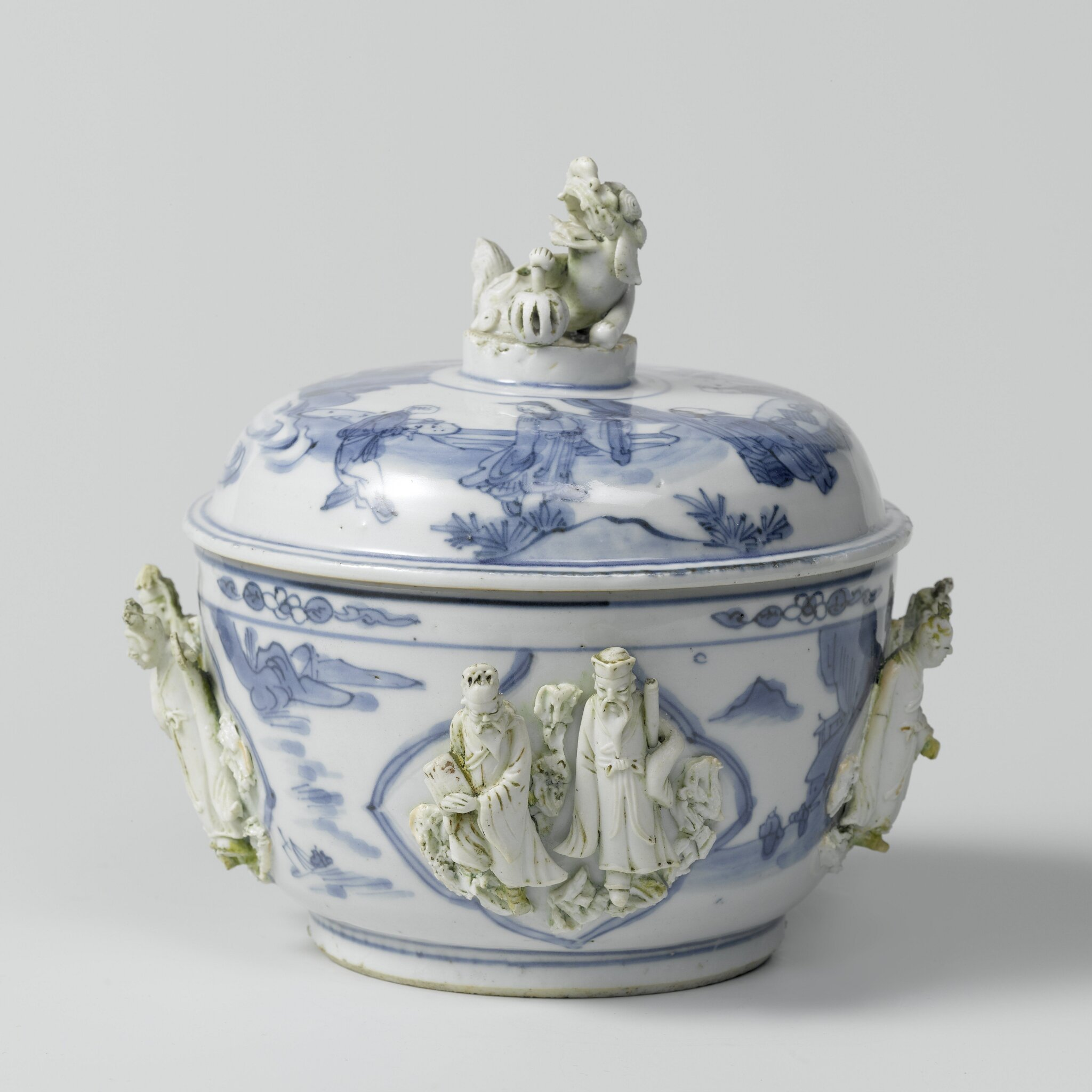 Lidded pot, China, Transition period, c