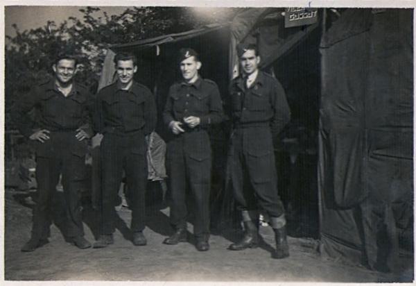 Maupetit - Jeannelle - Adj Gossot - Alfred Nunès - mai 1944