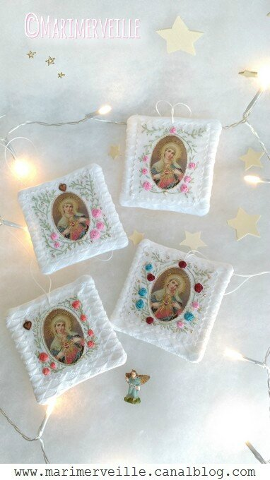 Marimerveille collection scapulaire Vierge Marie