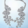 An exquisite diamond necklace, by paul flato, circa 1940
