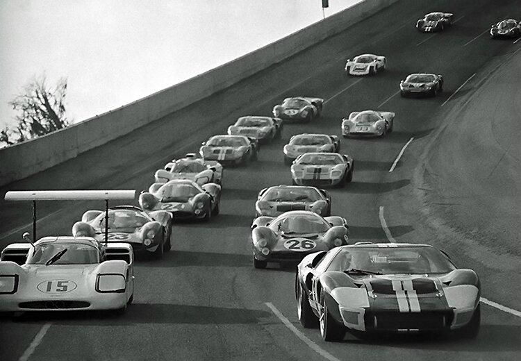 1967-Daytona-tour de formation