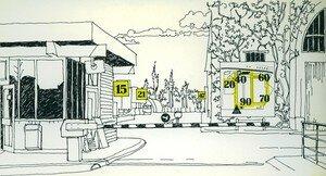 © 1988-1989 François-Noël TISSOT Une Identité Pour Demain ® Choisy-le-Roi RENAULT Plan d'Ensemble d'Orientation des Véhicules Utilitaires Accueil