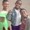 Visages d'Addis Abeba : Jeunes garçons
