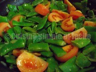 haricots plats tomates 02