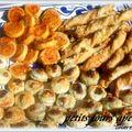 Petits fours aperitif ( variations autour d'une pâte )