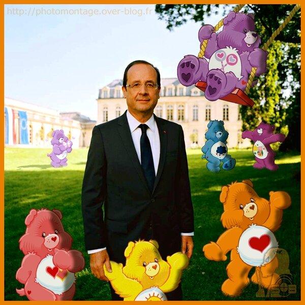 Hollande Bisounours 1