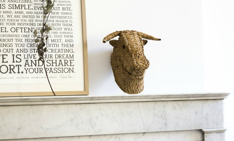 Trophée taureau deco chambre enfant deco maison kidsroom TRENDY LITTLE 3