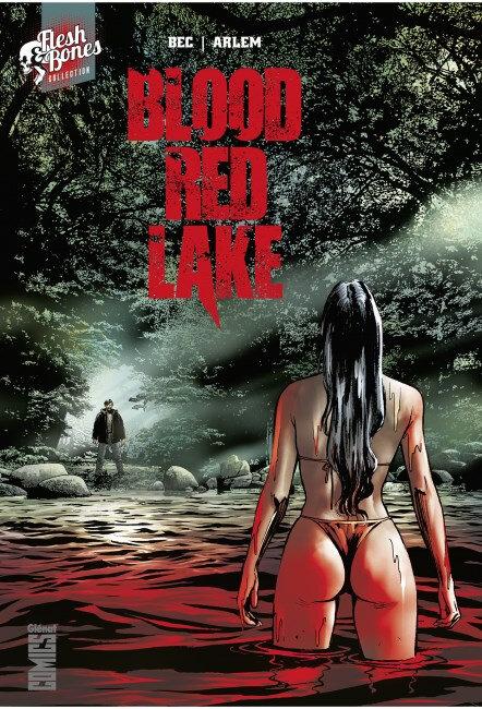 glénat blood red lake