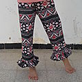 Pantalon à fronces