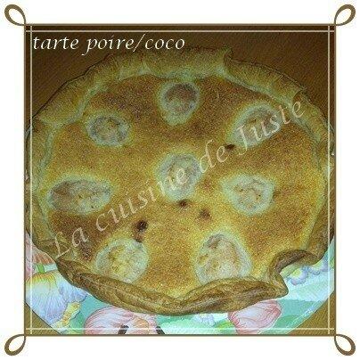 tarte poire-coco1-1-1