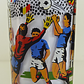 Verre ... football france 1984 * championnat d'europe des nations