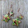 Boucles double étoiles Mosaik