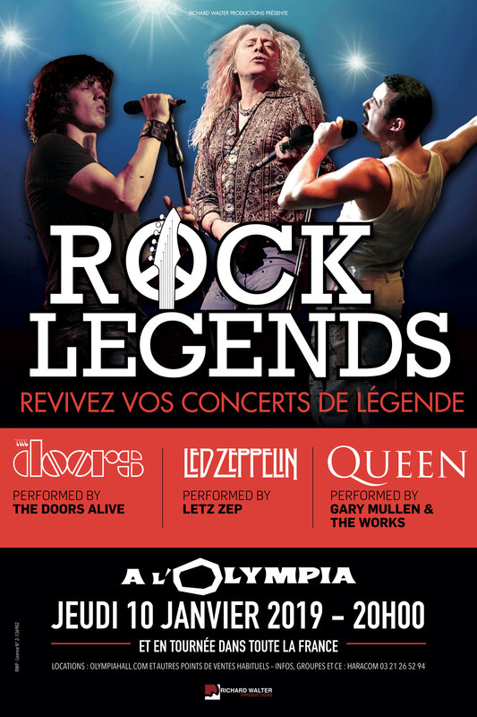 ROCK LEGENDS 40x60 (PARIS)2