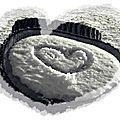 Nature romantique... prises de glace...