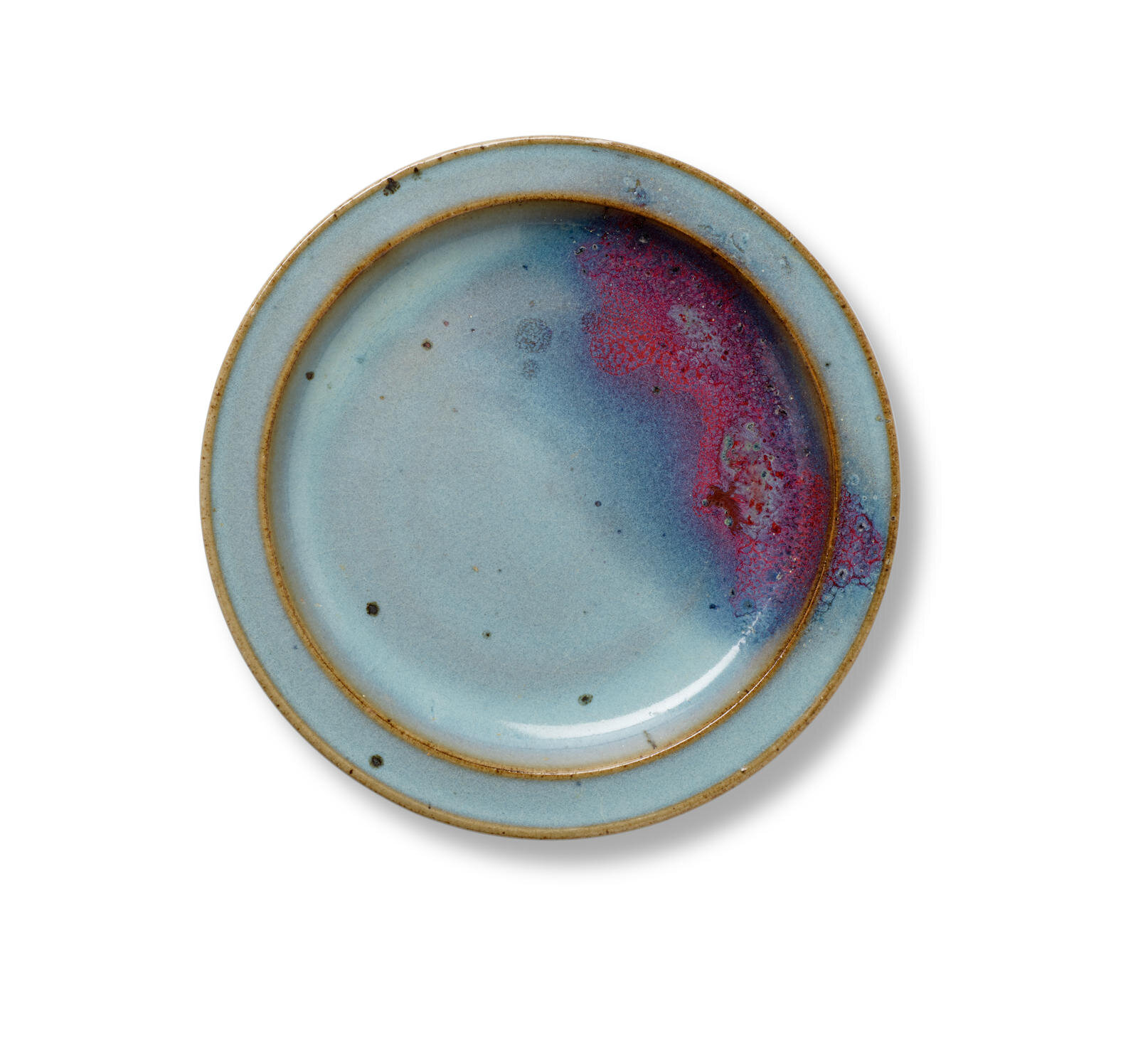 A fine Junyao purple-splashed dish, Jin-Yuan dynasty (1115-1368)