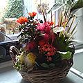 Composition florale pour mon anniversaire