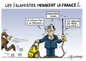 Menace islamique web