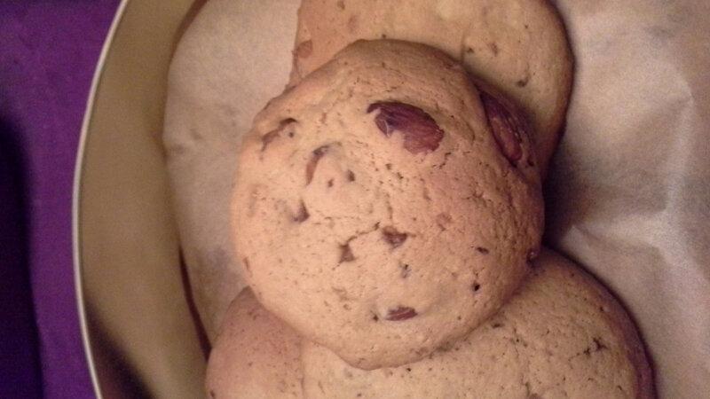 cookies aux amandes torréfiées