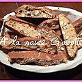 Biscuits croquants aux amandes et au miel