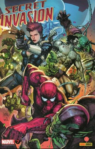 panini secret invasion 7
