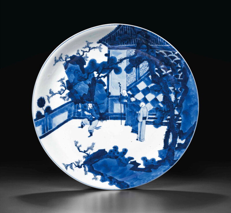 2014_NYR_02830_2146_000(a_large_blue_and_white_dish_kangxi_six-character_mark_in_underglaze_bl)