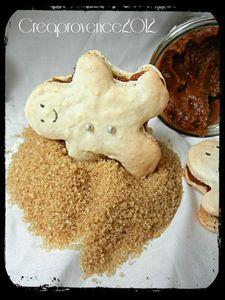 macaron bonhomme en pain d'épices