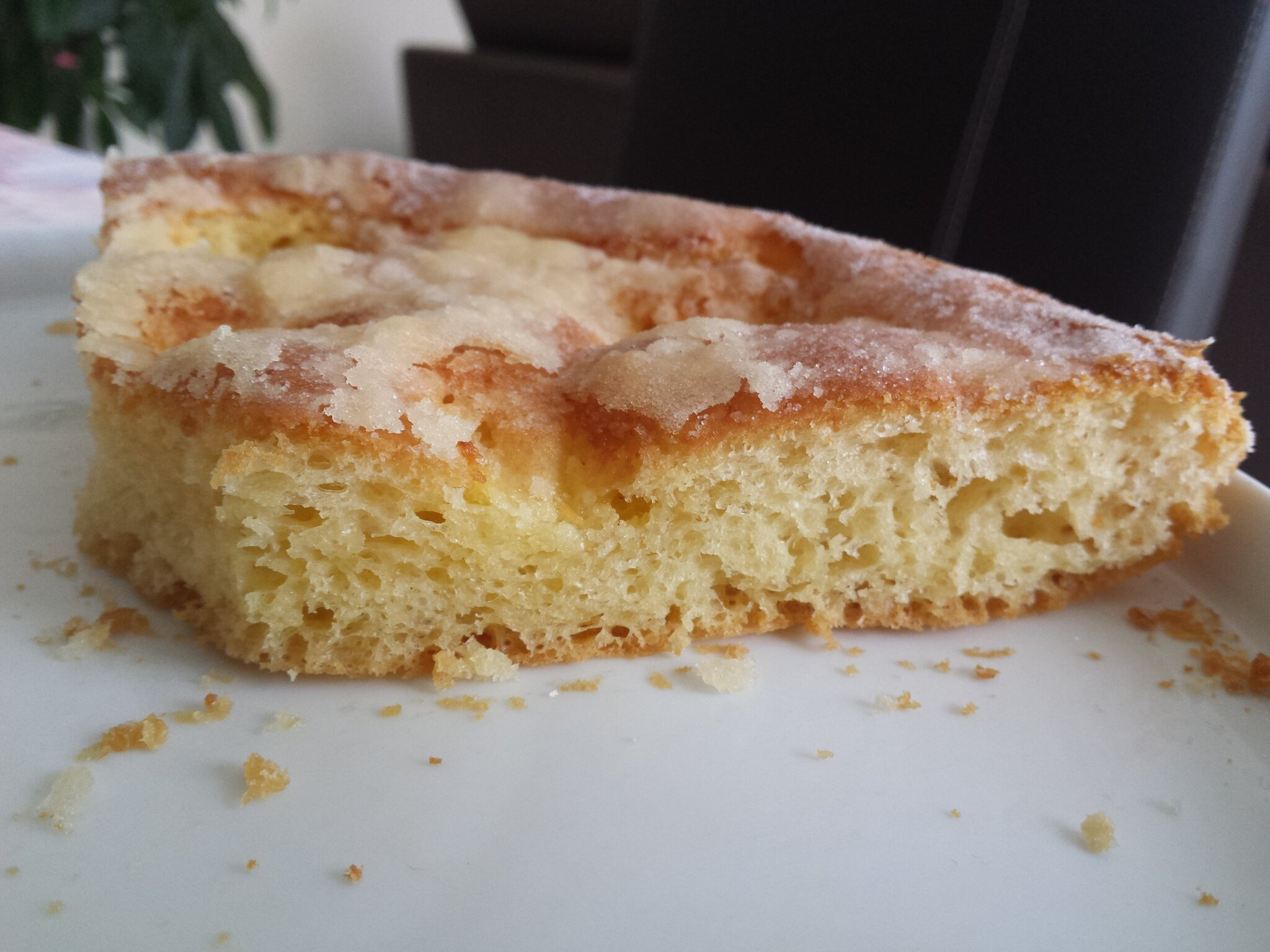 tarte au sucre thermomix