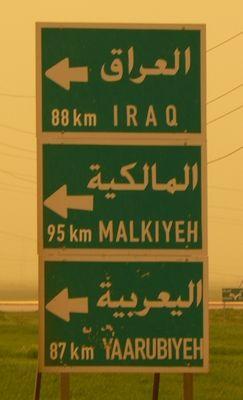 2 Le ciel est chargé du sable des déserts syrien et irakien