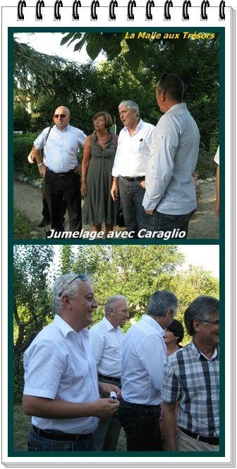Jumelage avec Caraglio