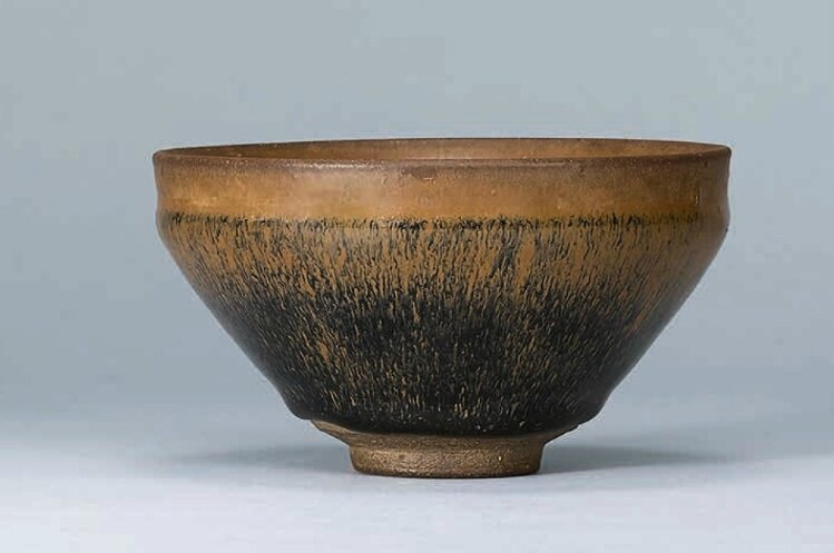 A Jian 'Hare's Fur' tea bowl, Southern Song dynasty (1127–1279)