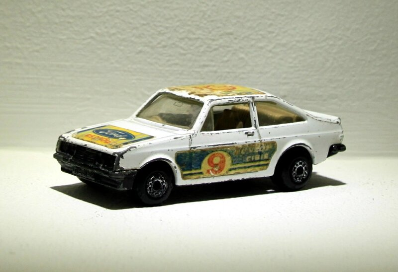 Ford escort RS 2000 (Matchbox)