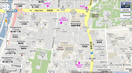 Localisation_restaurants_Gion_Kyoto