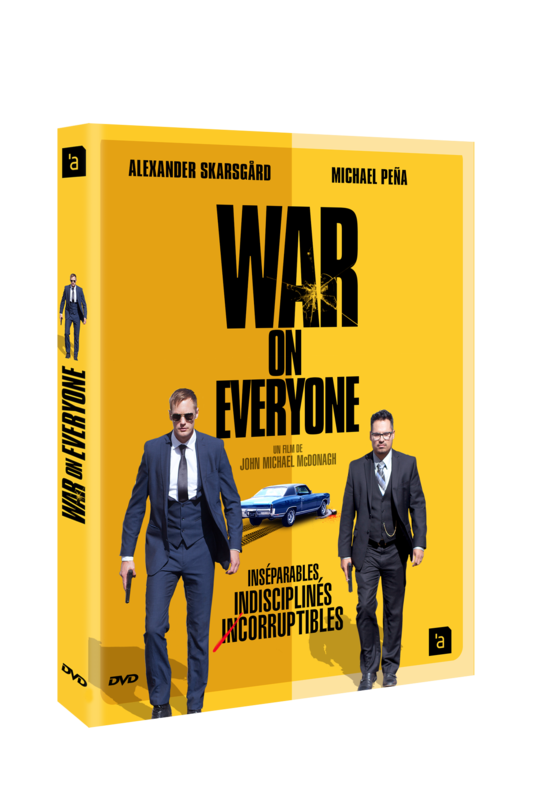 WAR ON EVERYONE DVD 3D
